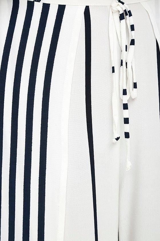 Faithfull the Brand Montero Black and White Striped Pants 5