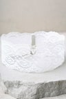 Lovely White Lace Choker - Lace Necklace - Wide Lace Choker -  12.00 8788ba8095b9