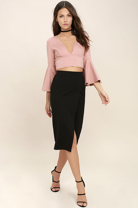 Perfectionist Black Pencil Skirt 2