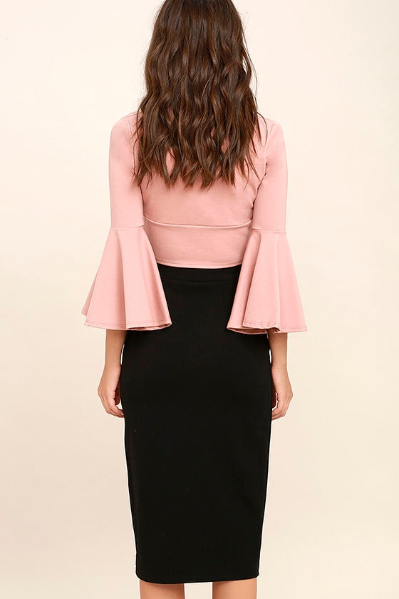 Perfectionist Black Pencil Skirt 3