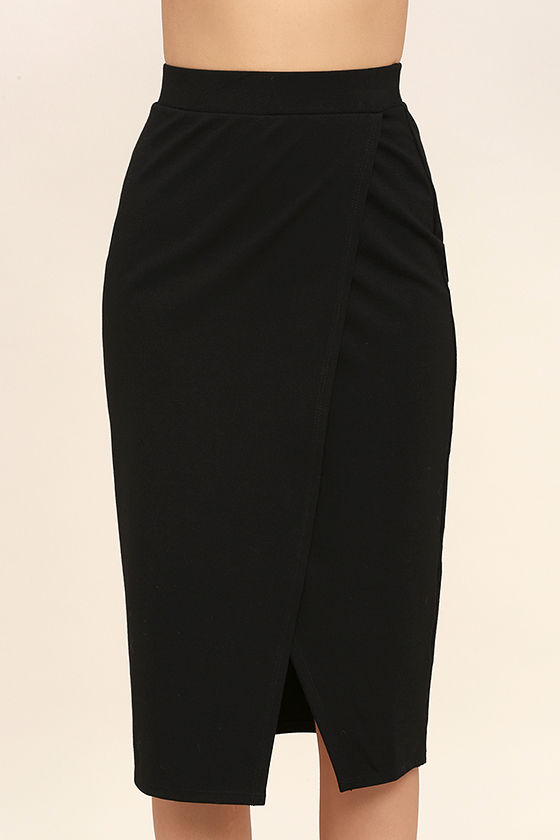Perfectionist Black Pencil Skirt 4