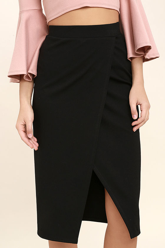 Perfectionist Black Pencil Skirt 5
