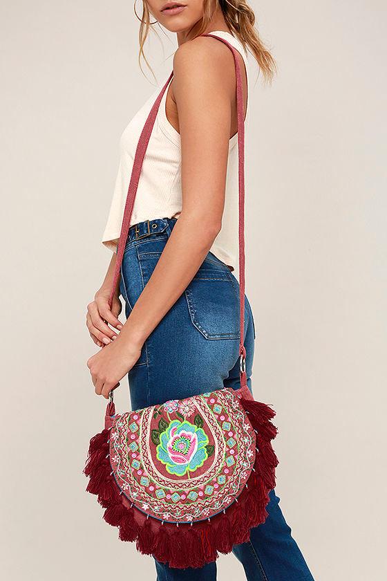 d5ade5da6e Boho Bag - Crossbody Bag - Embroidered Bag - Beaded Bag -  46.00