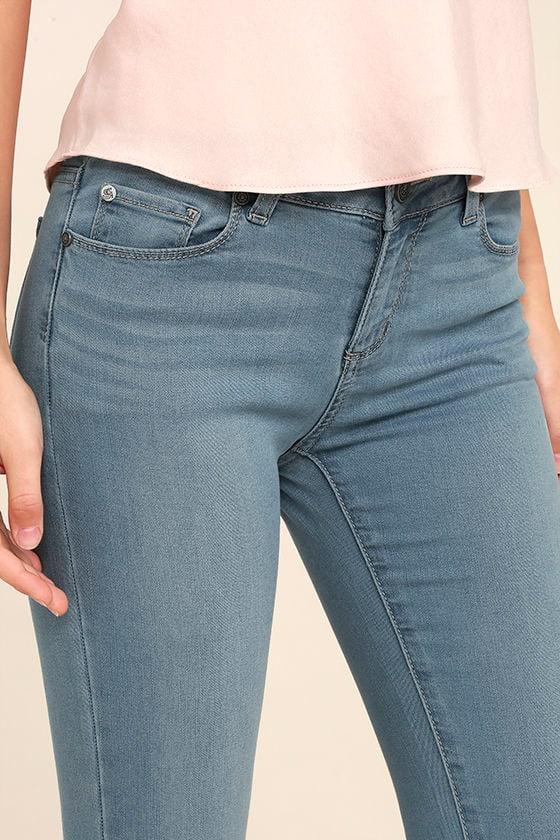 Bring it On Light Wash Skinny Jeans 5