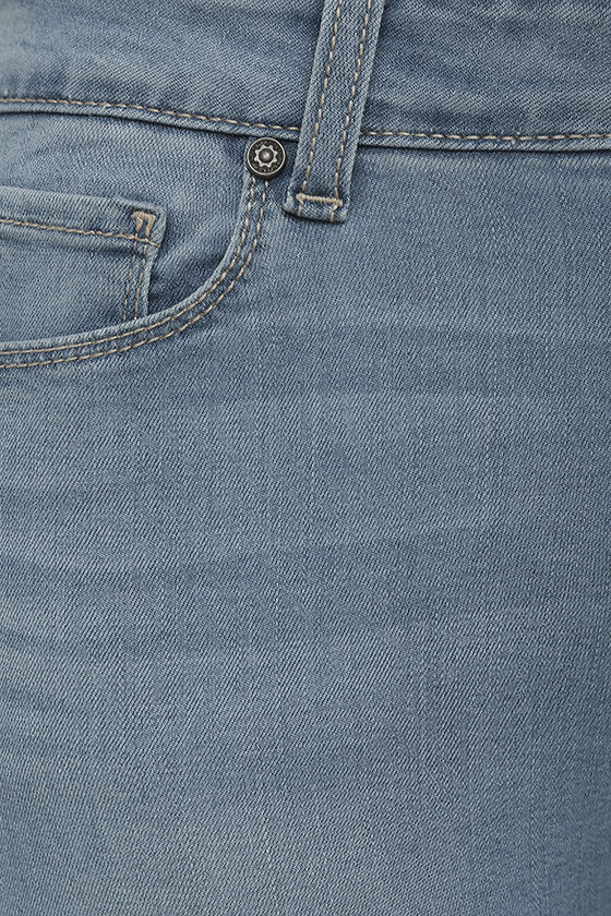 Bring it On Light Wash Skinny Jeans 6