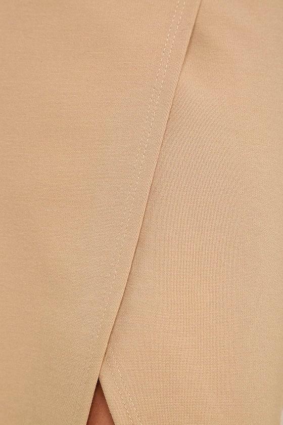 Perfectionist Beige Pencil Skirt 6