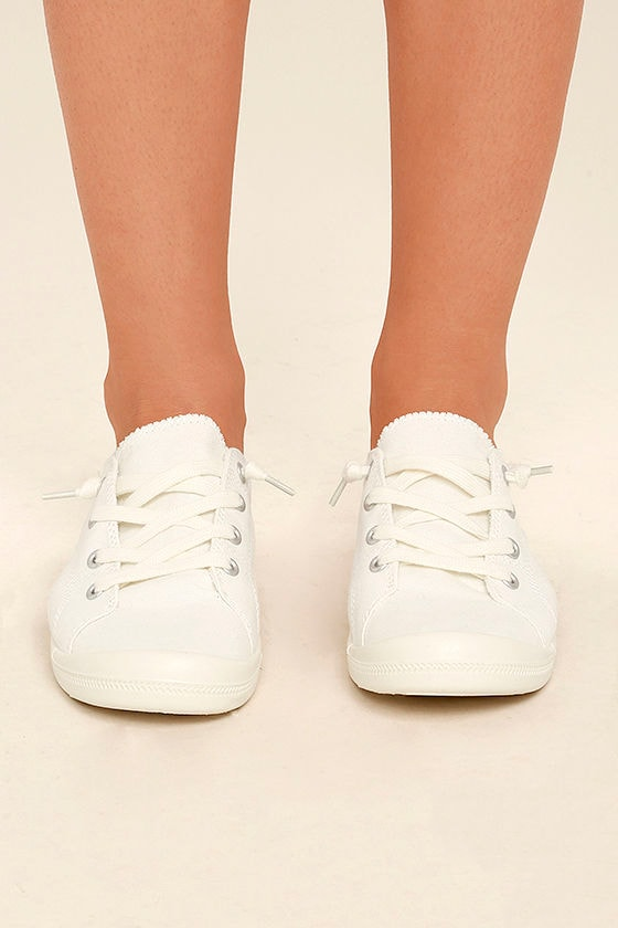 Madden Girl Baailey White Sneakers 2