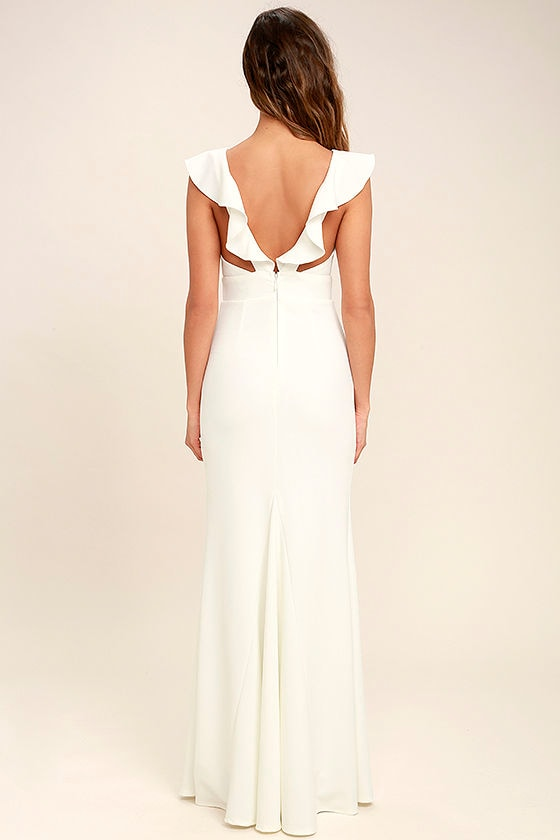Perfect Opportunity White Maxi Dress 4