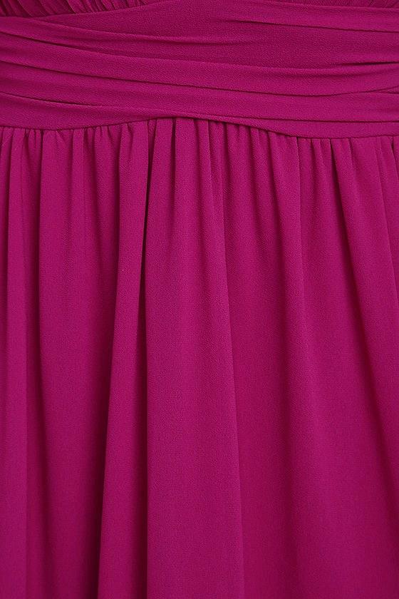 Heavenly Hues Magenta Maxi Dress 6