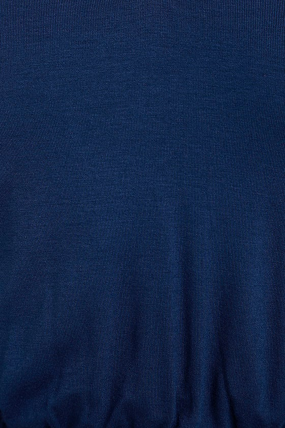Watch the Sunset Navy Blue Maxi Dress 6