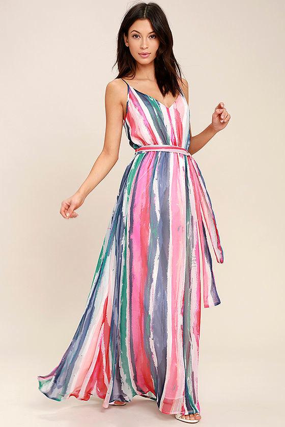 5520c6bd9fcc Jack by BB Dakota Joyner - White Print Dress - Maxi Dress ...