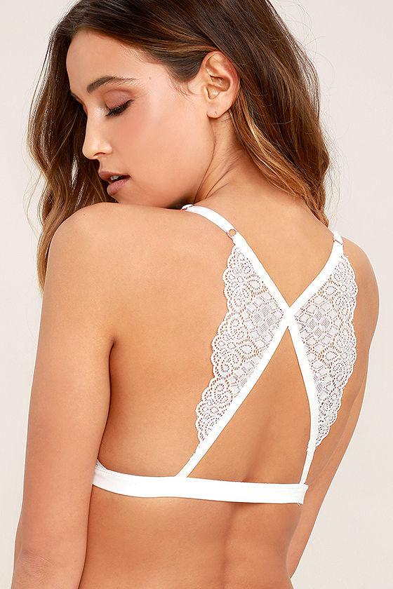 9874e8ab18c79f Sexy White Bralette - Lace Bralette - Butterfly Bralette -  27.00