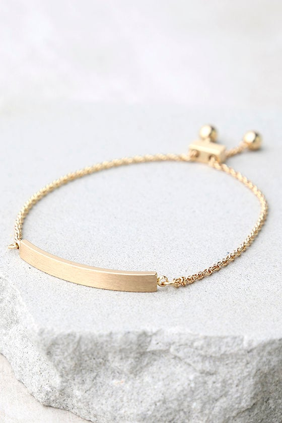 You Name It Gold Bracelet 2