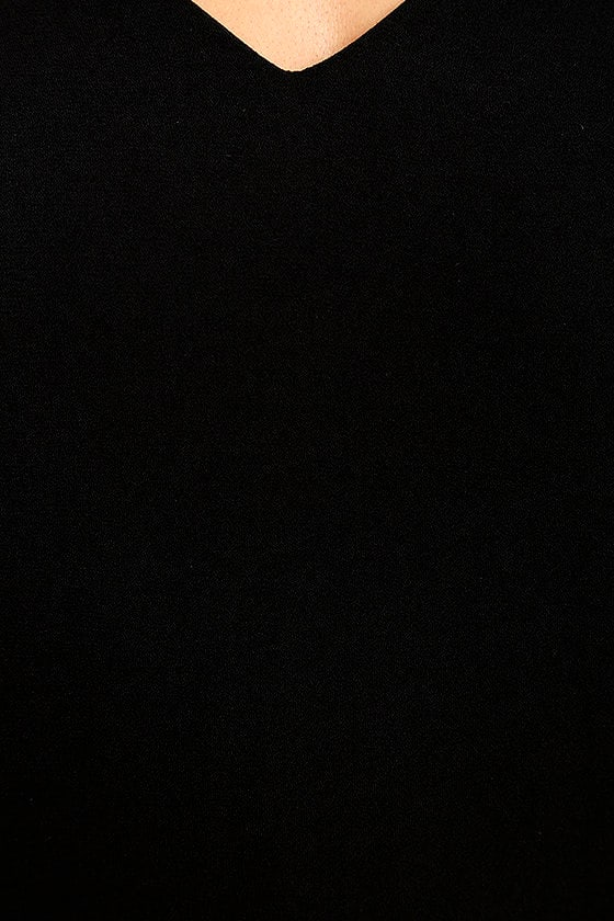 Groove On Black Shift Dress 6