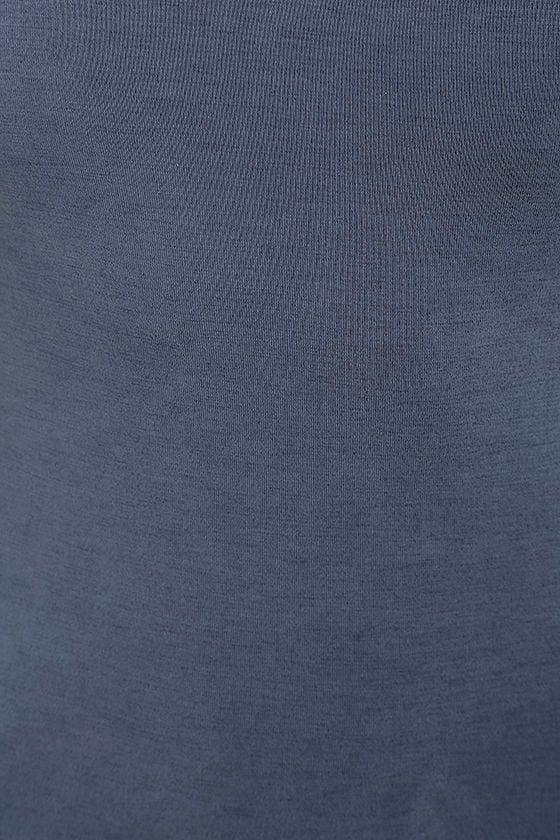 Fine Day Denim Blue Dress 6