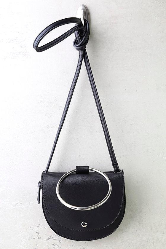 Ring-a-Ding-Ding Black Handbag 2