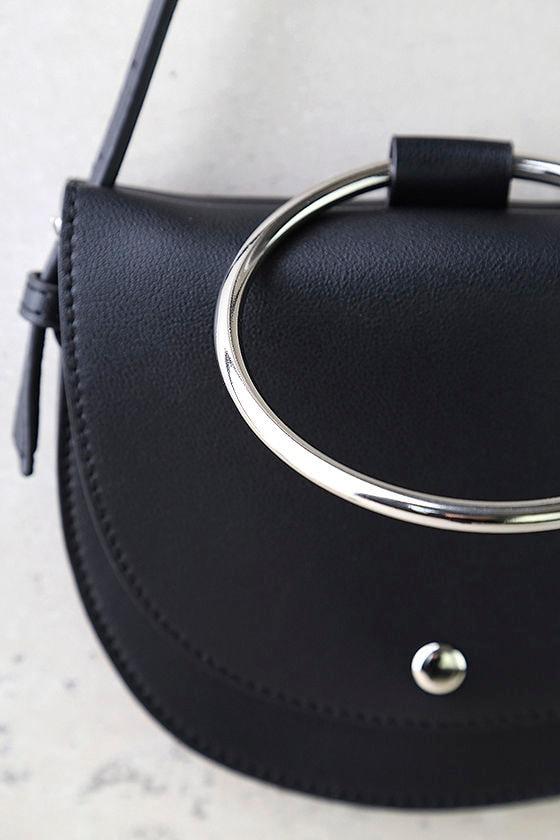Ring-a-Ding-Ding Black Handbag 3