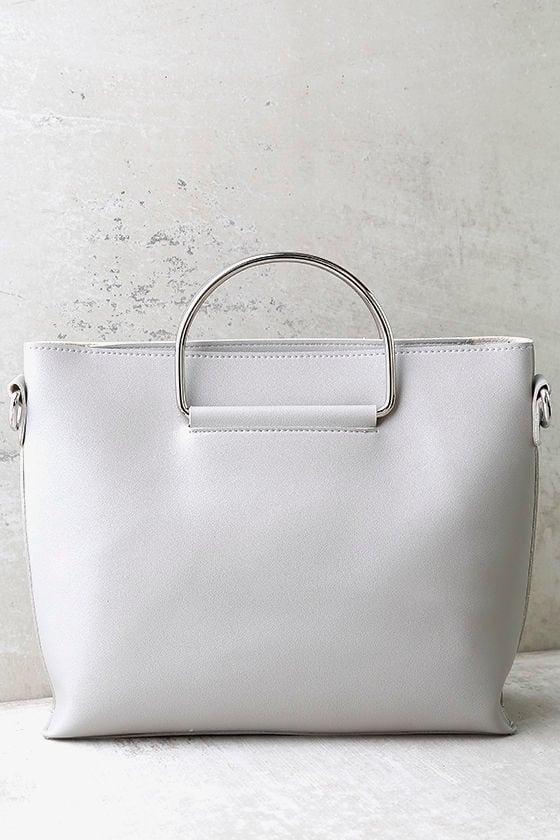 Complete Package Light Grey Handbag 2