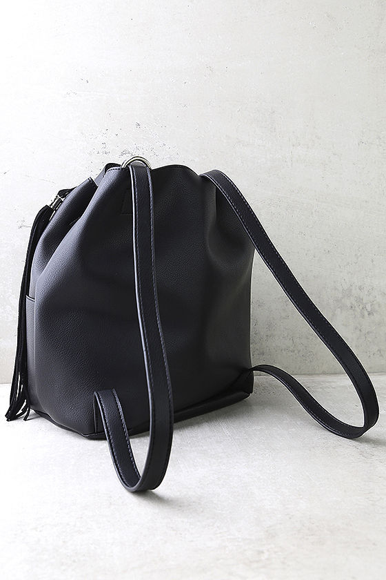 Ahead of the Pack Black Backpack 3