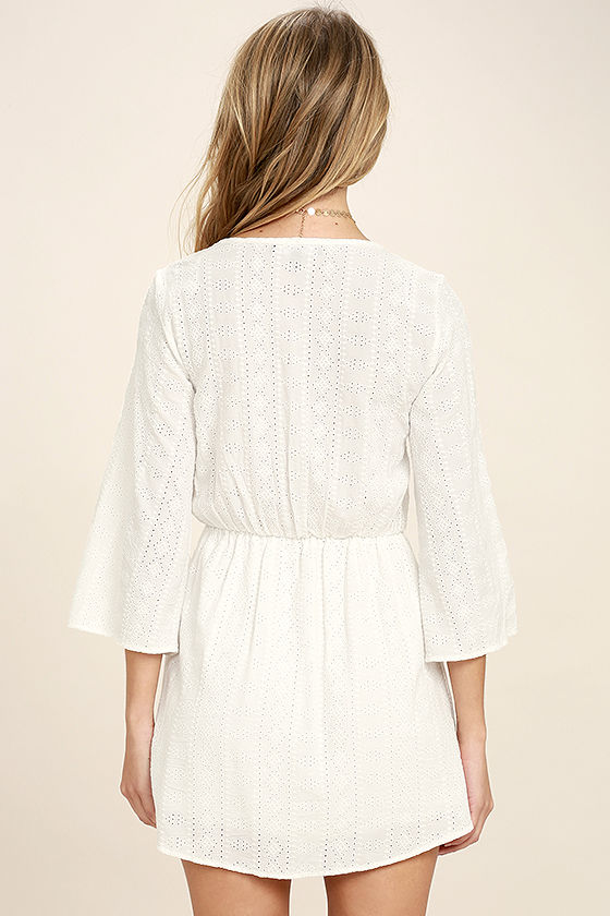 Easy on the Eyelets White Lace Cover-Up 4
