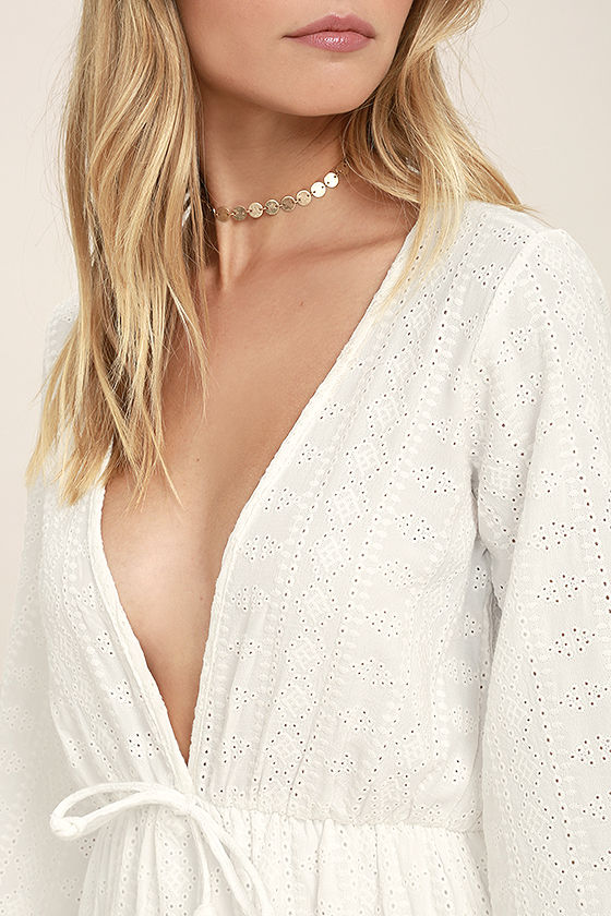 Easy on the Eyelets White Lace Cover-Up 5