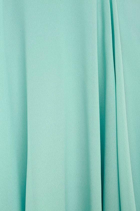 Forevermore Turquoise Skater Dress 6