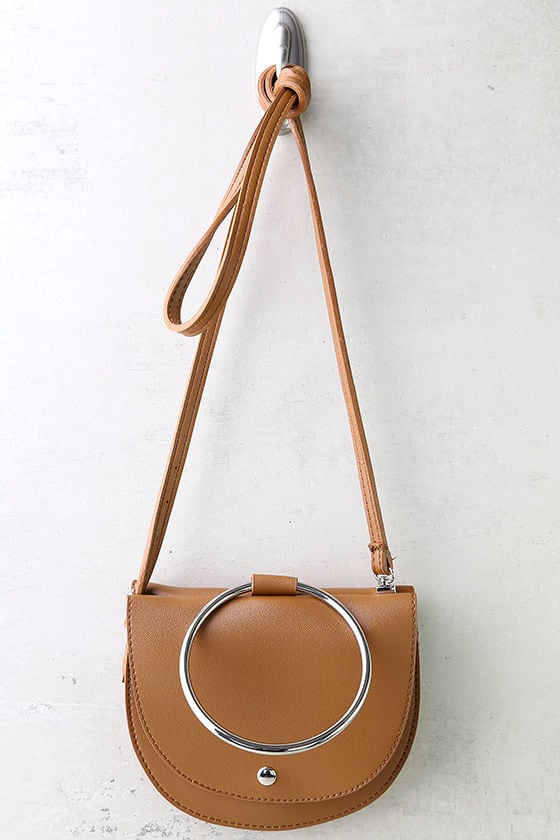 Ring-a-Ding-Ding Tan Handbag 2