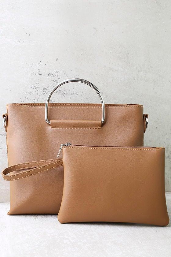 Complete Package Tan Handbag 3
