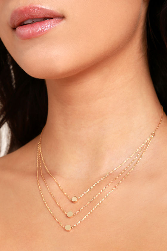Must Have Gold Layered Necklace 1