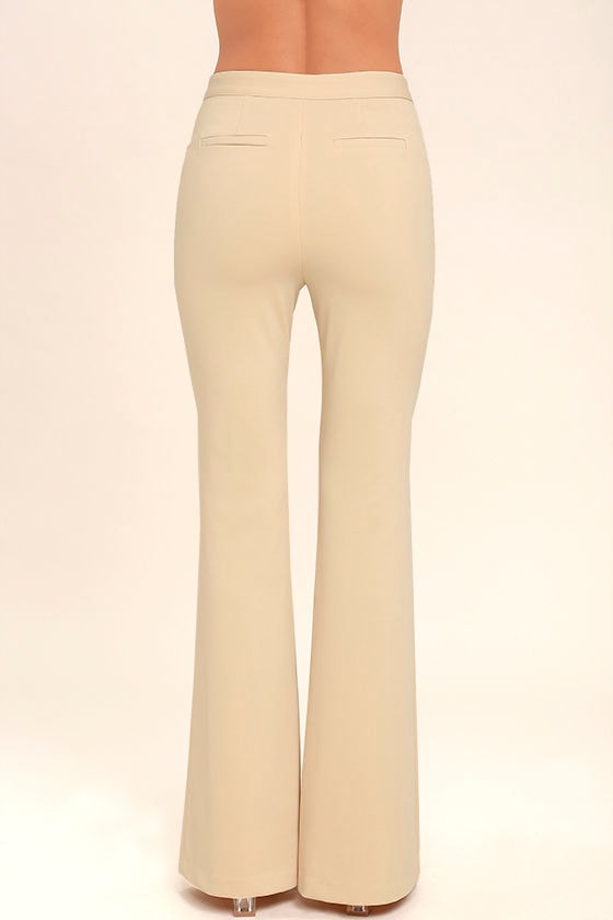 Labor of Love Beige Flare Pants 4