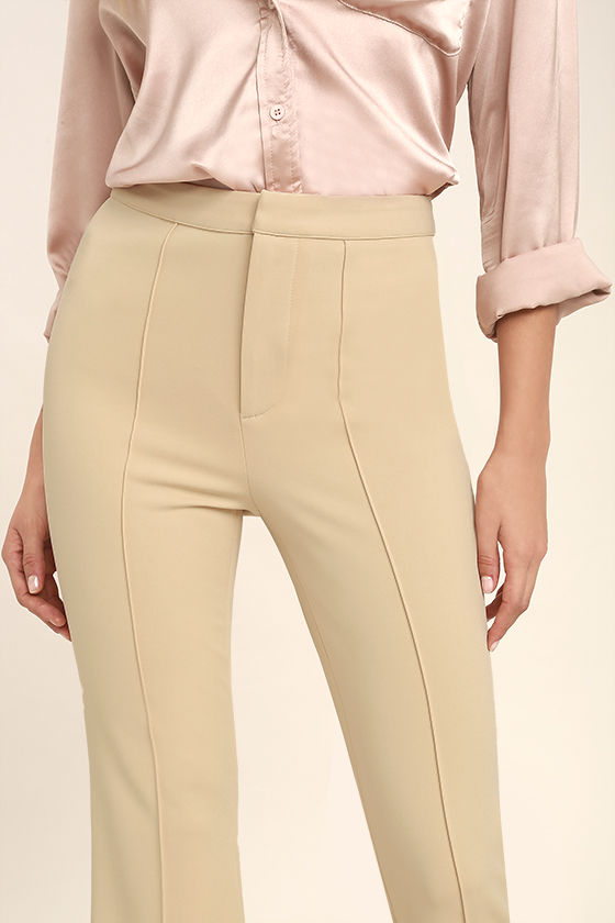 Labor of Love Beige Flare Pants 5