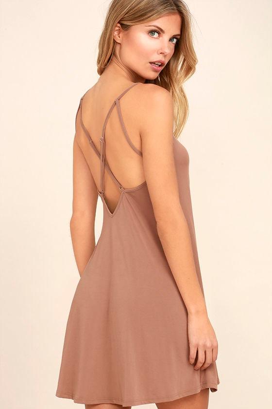 Hello Beautiful Blush Swing Dress 1