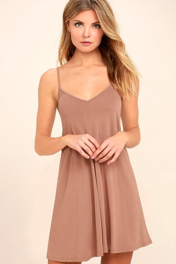 Hello Beautiful Blush Swing Dress 3