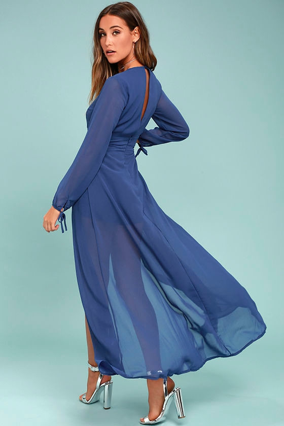 Gone With the Whirlwind Royal Blue Romper 2
