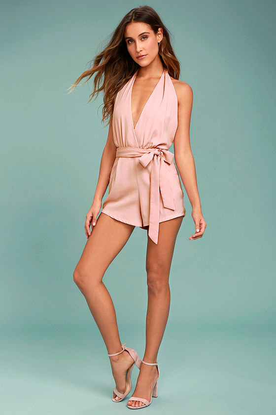 Playsuit My Fancy Blush Pink Romper 2