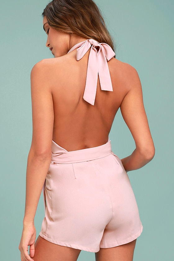 Playsuit My Fancy Blush Pink Romper 3