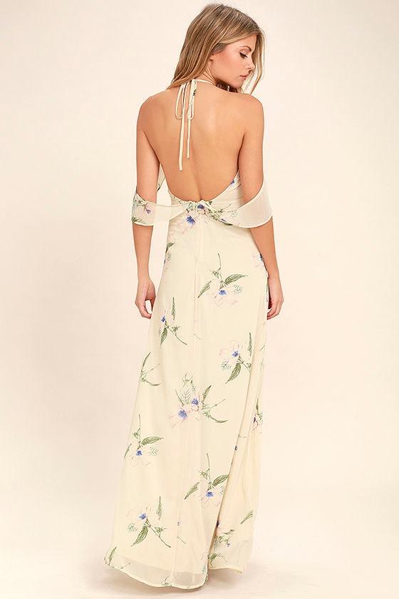 Light Floral Dresses