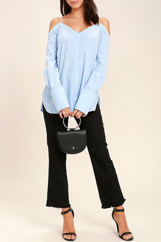 Ring-a-Ding-Ding Black Handbag 1
