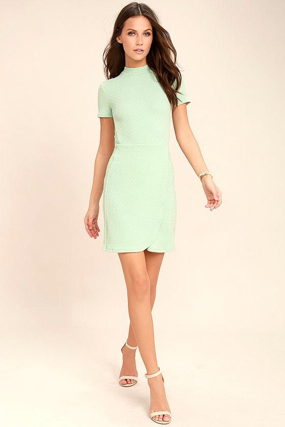 Black Swan Kylah Mint Green Bodycon Dress 2