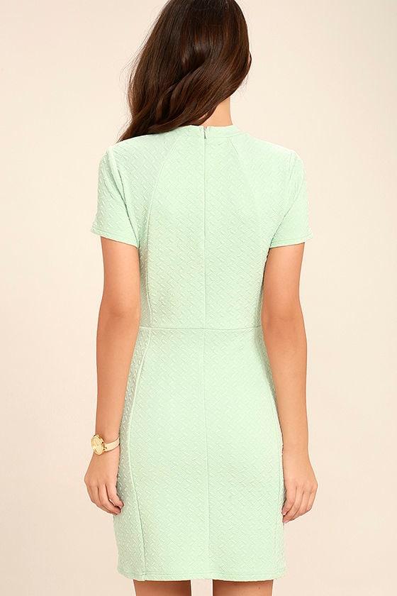 Black Swan Kylah Mint Green Bodycon Dress 4