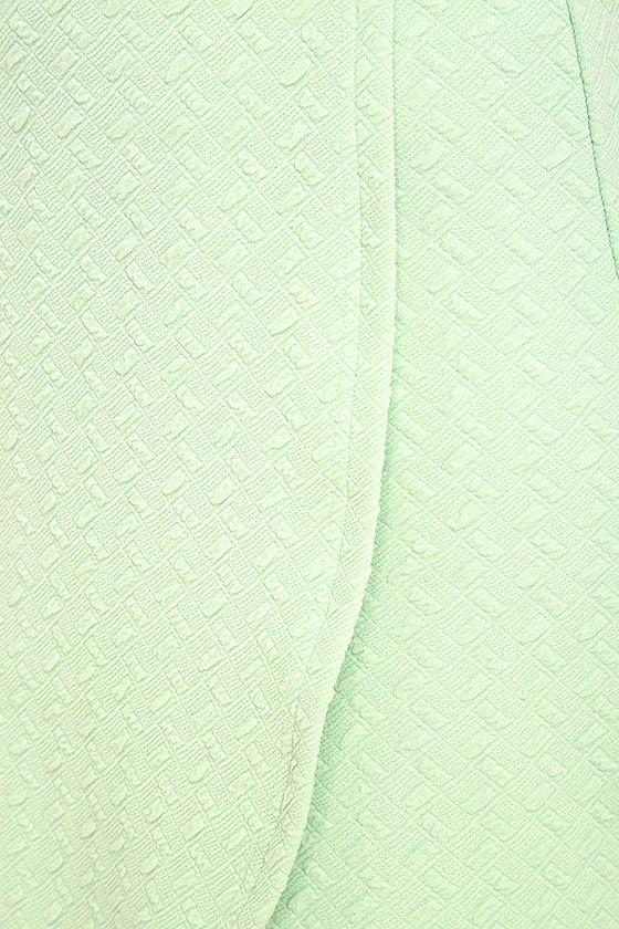 Black Swan Kylah Mint Green Bodycon Dress 6