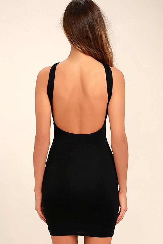 Key Largo Black Bodycon Dress 4