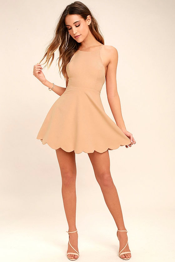 Play On Curves Blush Backless Dress 2