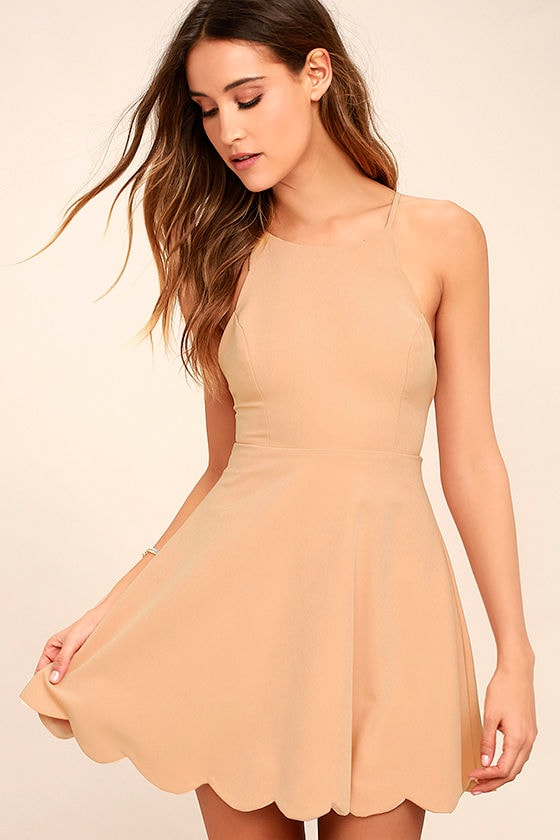 Play On Curves Blush Backless Dress 3