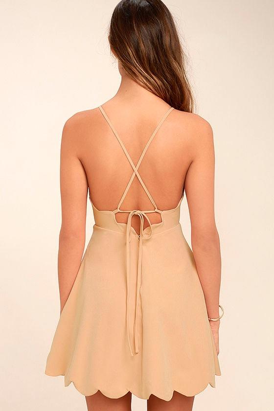 Play On Curves Blush Backless Dress 4