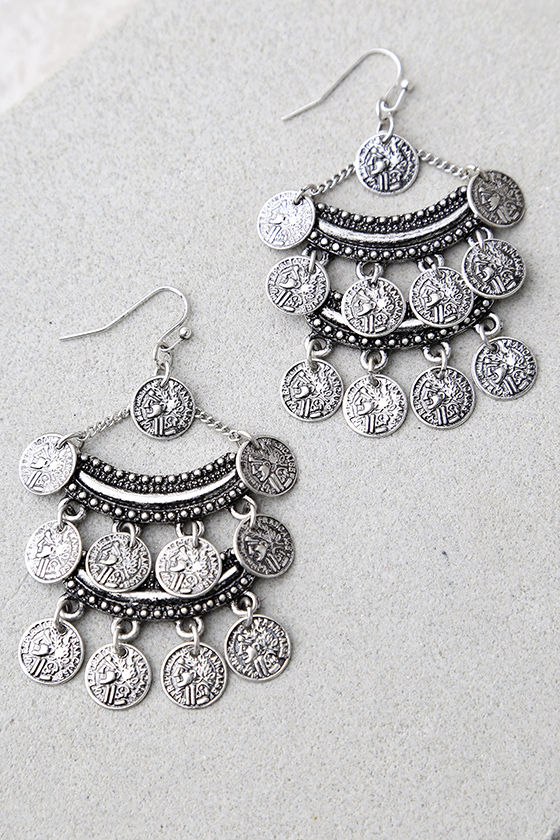 Eureka Silver Earrings 2