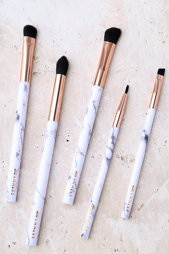 marble makeup brushes. #lovelulus tag your photos on instagram for a chance to win $200! marble makeup brushes h