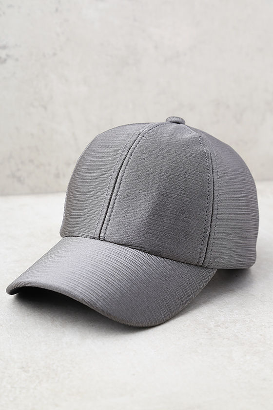 From the Crowd Grey Baseball Cap 2