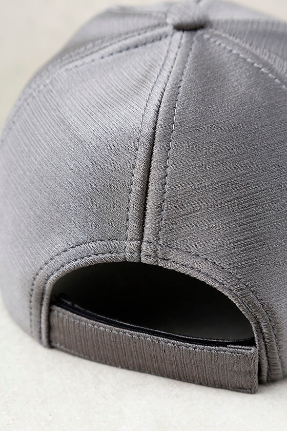 From the Crowd Grey Baseball Cap 3
