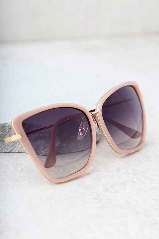 I Spy Mauve Cat-Eye Sunglasses 2